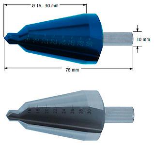 Сверло коническое, Ø=16-30 мм